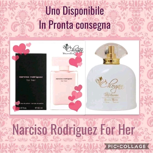 Profumo Chogan Narciso Rodriguez for her