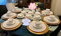 "Royal Albert ""memory lane ""bone china dinner set Vancouver, V5R 4H1"