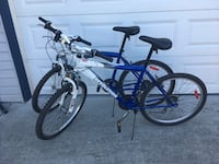 blue and black BMX bike Maple Ridge, V2W 1X2