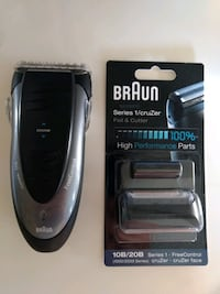 Braun 1775 Razor Shaver with new foil and cutter Leesburg, 20175