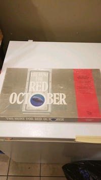 Hunt for red october board game. Surrey, V3V 5N6