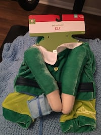 Elf dog costume San Diego, 92116