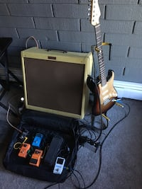 Complete stage ready genuine fender and effects set Edmonton, T5K