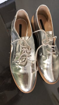 pair of gray leather dress shoes Toronto, M4H