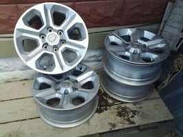 Toyota 17 in rims new take offs
