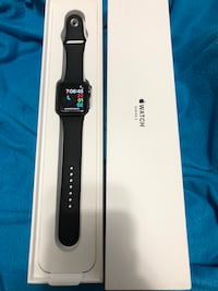 black Apple Watch with black sports band Niceville, 32578