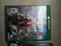 Xbox One Farcry 4 game case Barrie, L4M 2S3