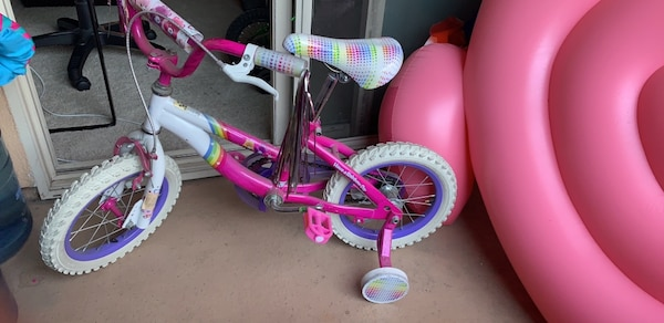 84144443f6d Used Excellent Girls bike 14