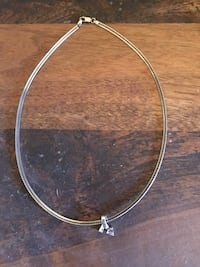 Tanzanite necklace with chain Abbotsford, V2T 1P1