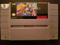 NCAA Basketball for SNES  Vaughan, L4L