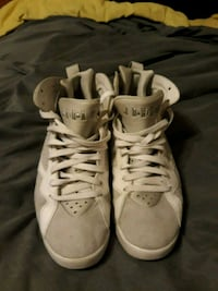 pair of white Air Jordan basketball shoes St. Louis, 63119