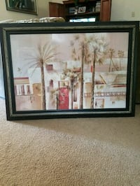 Large framed wall picture Jacksonville, 32244