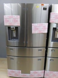 Samsung  28 CuFt French Door Refrigerator Take it home today $54 Down