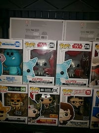 six assorted Pop ! vinyl figures Gaithersburg, 20877