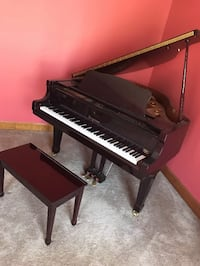 Bergmann Baby grand piano TG-150 broken pedal. Needs tuning Fayetteville, 30215