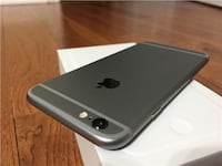 space gray iPhone 6 with box Aurora, 80013