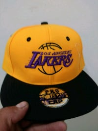 Lakers snap back hat South Gate, 90280