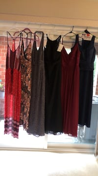 Sundresses, Gowns (black one is new still has tags on it) SIZES BELOW Baltimore, 21236
