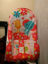 baby's multicolored Fisher-Price bouncer West Lafayette, 47906