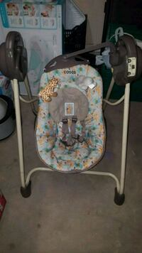 baby's white and gray swing chair Sunland Park, 88063