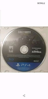 Sony PS4 Fallout 4 game disc Pomona, 91767