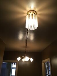 TWO Ceiling Light Fixtures with Swag Chain Toronto, M6M 4B5