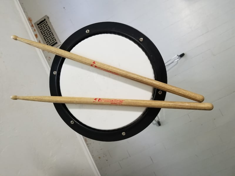 Bell and practice pad set 5