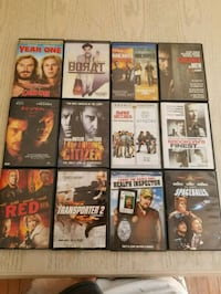 Assorted movies  for sale Dunrobin, K0A 1T0