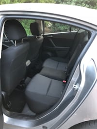 black and gray car interior null