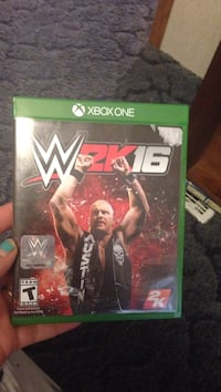 Xbox One WWE 2K17 game case Athens, 37303