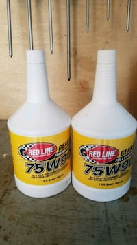 Brand new redline synthetic gearoil