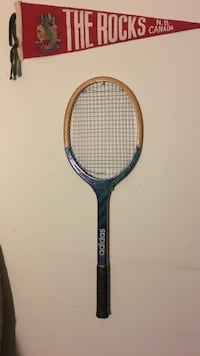 brown and blue Adidas tennis racket Vancouver, V6K 1Y4