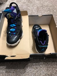 pair of black Nike Air Foamposite Pro shoes with box Lindenhurst, 11757