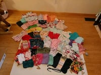 100 pieces of of 12 month baby girl clothes Bluff City, 37618