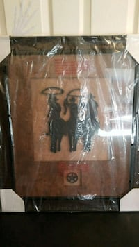 brown and black wooden framed wall decor Springfield, 65802