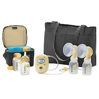 Medela Freestyle Double Electric Breastpump - with BPA-Free Bottles Markham, L3P 4M6