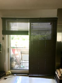Brown wood blinds  Laval, H7W 2S3