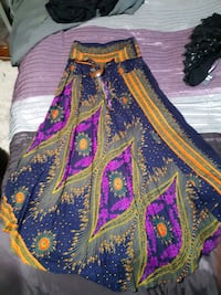 Brand new rayon skirt or dress! One size fits all!
