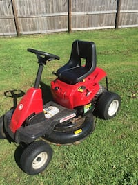 red and black riding mower Edgewater, 32132