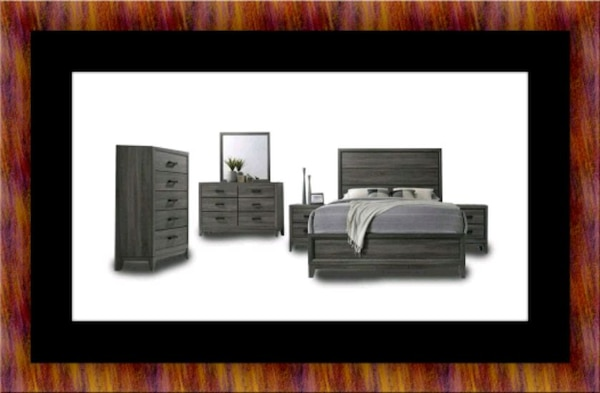 11pc Kate bedroom with mattress