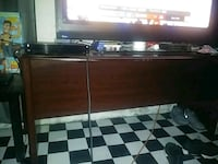 black and white wooden TV stand Milwaukee, 53204