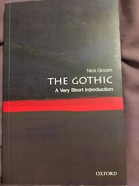 The Gothic By Nick Groom.  Toronto, M5P