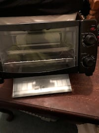 black and gray toaster oven 216 mi