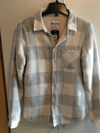 Bluenotes ladies small cotton shirt, lined, very warm, new $15 Mississauga, L5L 5P5
