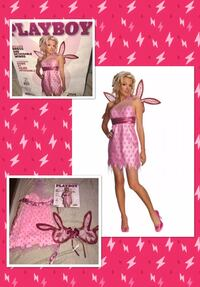 "SECRET WISHES* brand ""PLAYBOY BUNNY FAIRY!"" Women's costume size Large. NEW!  Carrollton, 75007"