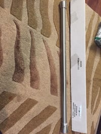 Brand new shower tension rod brushed nickel  Hamilton, L8M 2B5