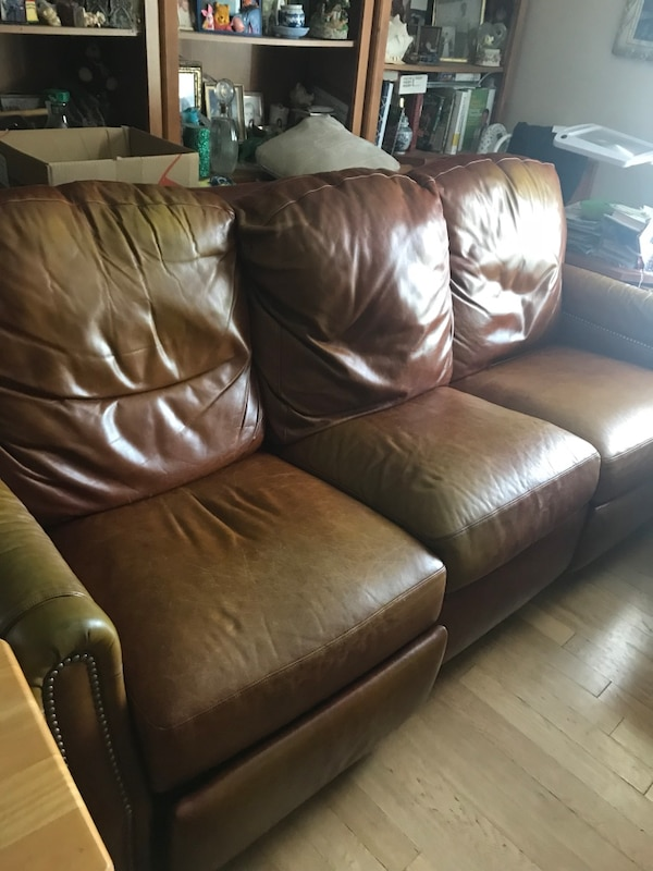 Awesome Used Robb And Stucky Reclining Sofa For Sale In Mckinney Letgo Machost Co Dining Chair Design Ideas Machostcouk
