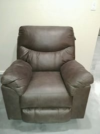 Reclining Chair ! I have two! Dark brown/grey sued