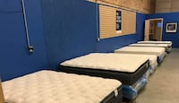 Full Set Mattress , Boxspring, And Frame