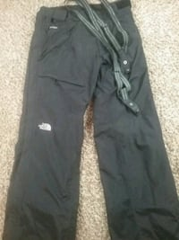 The north face snow winter lined pants suspenders Kent, 98042